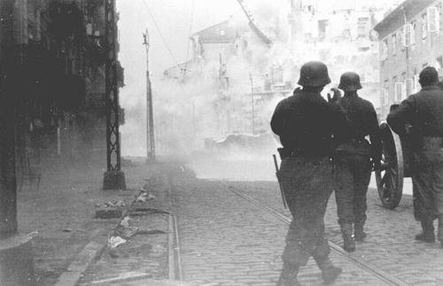 Последний бой в Варшавском гетто