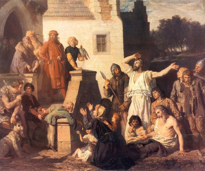 Евреи и петр i
