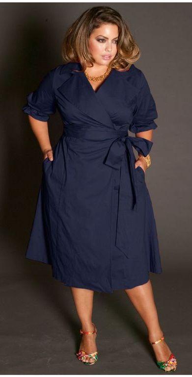 Платья на пышные формы